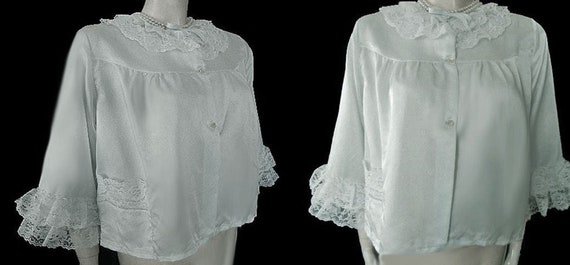Vintage Nanettes Undies Bed Jacket Southern Belle
