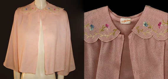 Vintage Saks Fifth Avenue Embroidered Sparkling Rh