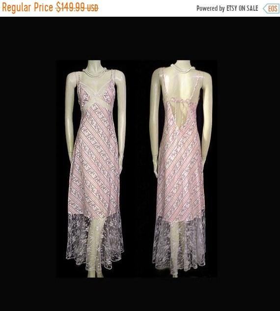 CLEARANCE SALE Vintage Victoria Secret Pink Green