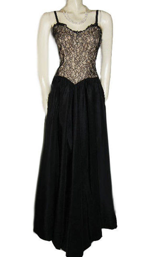 Vintage 40s Evening Gown Metal Zipper Bolero Jack… - image 6