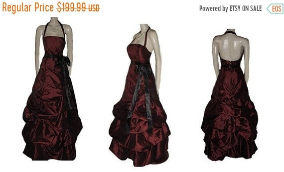 CLEARANCE SALE Vintage Bill Levkoff Evening Gown R