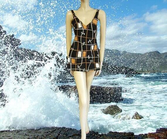 Rare Vintage Florence Eiseman Swimsuit Margaret Ma