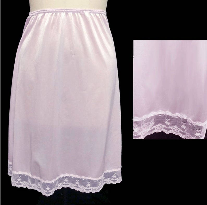 903e9a68cf86 Vintage Fortune Lace Slip Made in the US in Wisteria lavender | Etsy