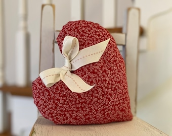Handmade SCENTED Floral Pattern Heart