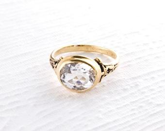 14k Gold Victorian Ring in Various Gemstones