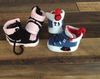 f6f84354c700 Crochet Baby booties