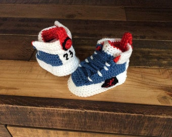 wholesale dealer 0bdc9 39161 Crochet Baby booties ,Crochet nike air jordan 1,baby Sneakers,Crochet Yeezy  350,Yeezy boost sply 350,Newborn Photo Prop,Crochet baby shoes,