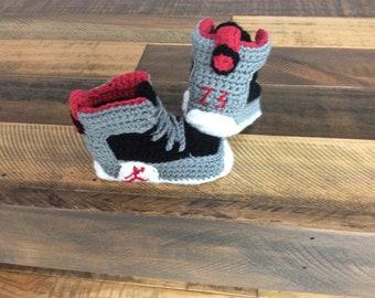 983b0472b0f Baby sneaker booties