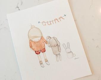Kiddo Custom Watercolor