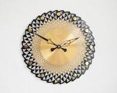 Large Wall Clock, Wall Clock, Modern Wall Clock, Mid Century Clock, Mid Century Wall Clock, Starburst Clock, Clocks For Wall, Sunburst Clock