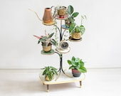 60s Multi tiered plant stand, Mid Century Plant Stand, Plant Stand Tiered, Tiered Plant Stand, Plant Stands Indoor,Vintage Plant Stand, boho