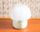 Doria Murano Style Glass Mushroom Lamp