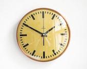 Siemens factory wall clock