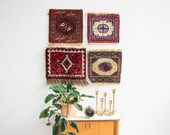 Mini wall rug collection as wall decor