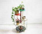 60s Tiered Plant Stand, Ilse Möbel Plant Stool