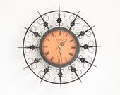 Weimar copper wall clock