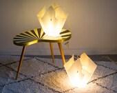 2 90s SLAMP Tissue Lamps