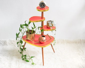 Plant stands + stools