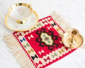 Mini Balkan Kilim for your table or wall