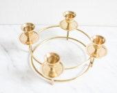 Brass Candelabra, Candlestick, Candelabra, Candle Holder, Candlestick Holder, Candelabra Centerpiece, Brass Candlestick, Brass Candleholder