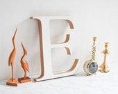 Old Shop Letter, Letter E, Marquee Letter, Shop Signage, MDF Letter, Wooden Letter, Vintage Signage, Gift Letter, Old Letter, Shop Letter