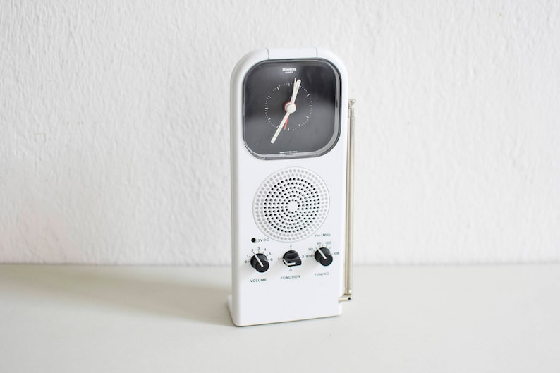 Alarm Clock, Desk Clock, Desk Accessoiries, Vintage Alarm Clock, Vintage  Clock, Rowenta Clock, Modern Clock, Modern Alarm Clock