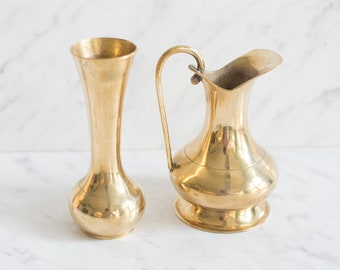 2 brass vases for propagation