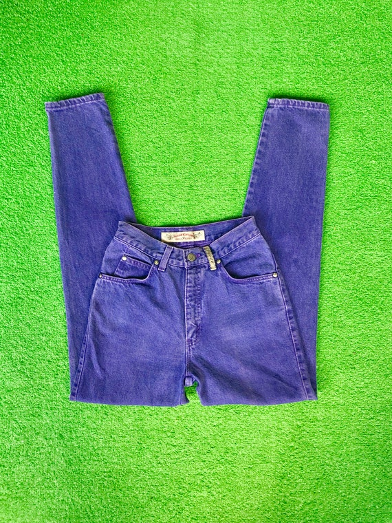 a Levis jeans 1980s is tab pants purple silver series 90s This 900 Levi's retro 1990s 25 denim of Vintage 26x30 high purple Pair 80s waisted 0xUIHBPq
