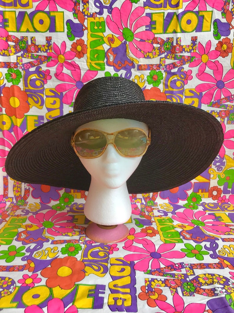 bd7df9c8eb Vintage 1960s oversized cool ray sunglasses mod 60s 70s large
