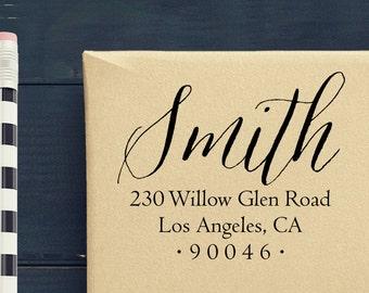 Personalized Address Stamp - Custom Return Address Stamp - Self Inking