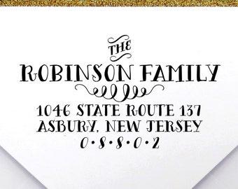 Custom Crafty Return Address Stamp - Self Inking Address Stamp