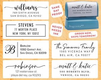 BEST QUALITY Stamp on Etsy  | Custom Return Address Stamp Self Inking | Highest Rated