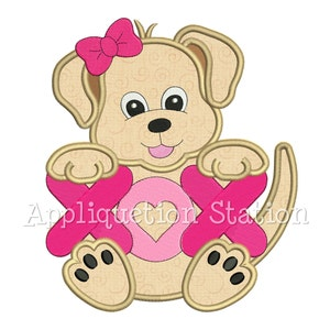 first of a collection of packets Valentine bear painted with acrylic paint a tole painting pattern String of Hearts Bear