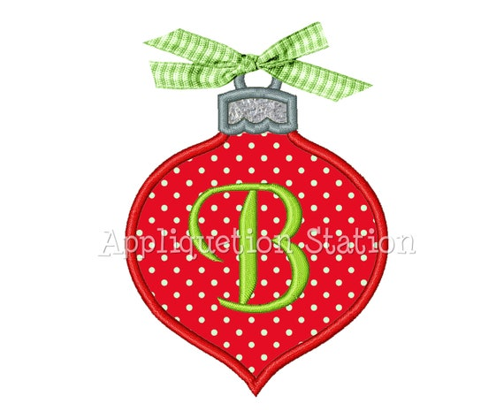 Christmas Ornament Tear drop Applique Machine Embroidery Design Holiday  INSTANT DOWNLOAD - Christmas Ornament Tear Drop Applique Machine Embroidery Etsy