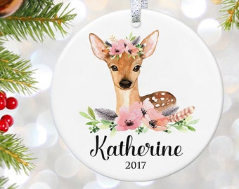 Baby's First Christmas Ornament, Personalized Children's Ornament, New baby Gift, Baby keepsake Gift, Newborn Baby Christmas Gift Ideas