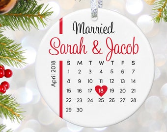 Wedding Christmas Ornament First Christmas Ornament as Mr and Mrs Personalized Wedding Ornament Personalized Christmas Gift for Couple Gift