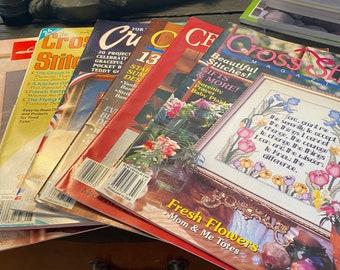 Vintage Cross Stitch Magazines