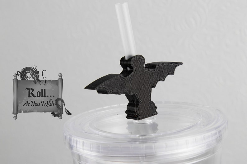 mansion bat  ghost straw buddy topper coffee cup bling accessories stocking teacher reusable straw birthday party gifts fish extender