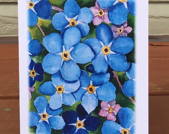Forget-Me-Not Note Cards