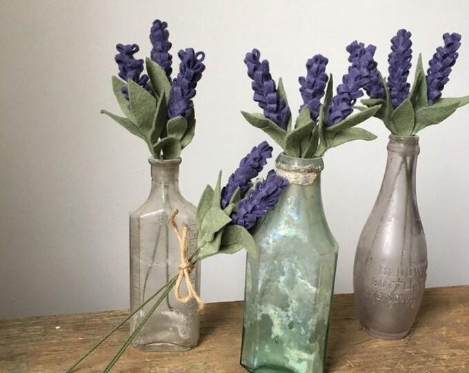 Felt lavender bundle