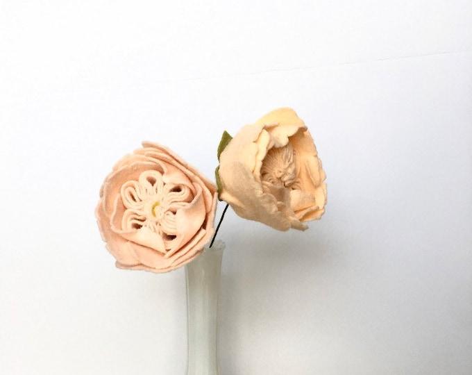 Juliet Rose- Build your own Bouquet - Felt Flowers A La Carte