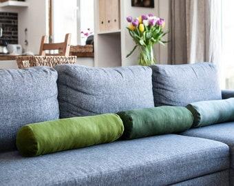 Bolster pillow CASE - Bolster cushion cover - bolster pillow COVER, kids car pillow, custom colour bolster, custom size bolster