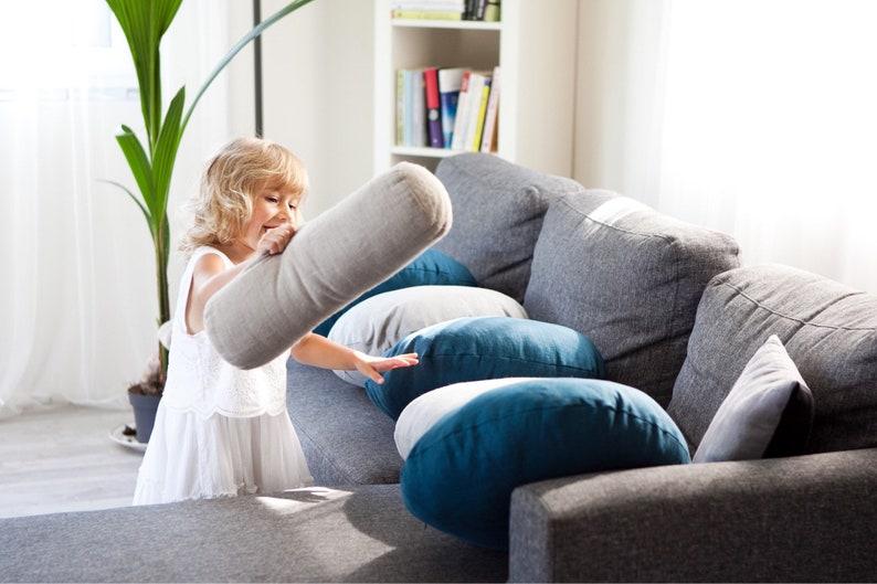 Bolster pillow case cylinder pillow long bolster pillow image 0