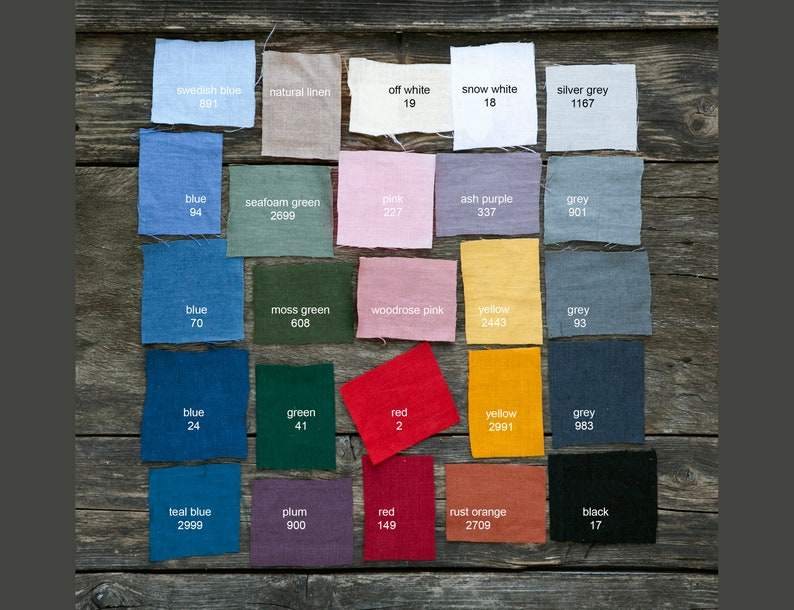 Cloth napkins bulk custom color linen napkins bulk Softened image 0