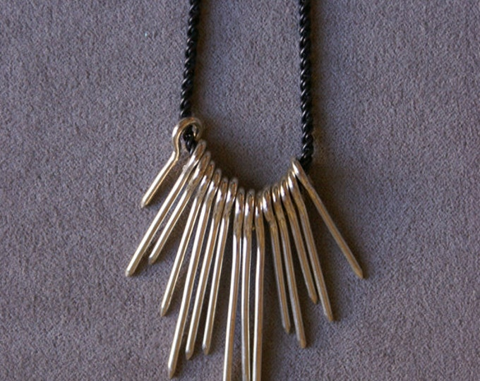 Burst Necklace in Sterling Silver