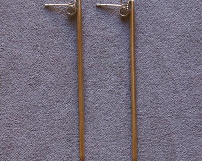 Thin Post Earrings