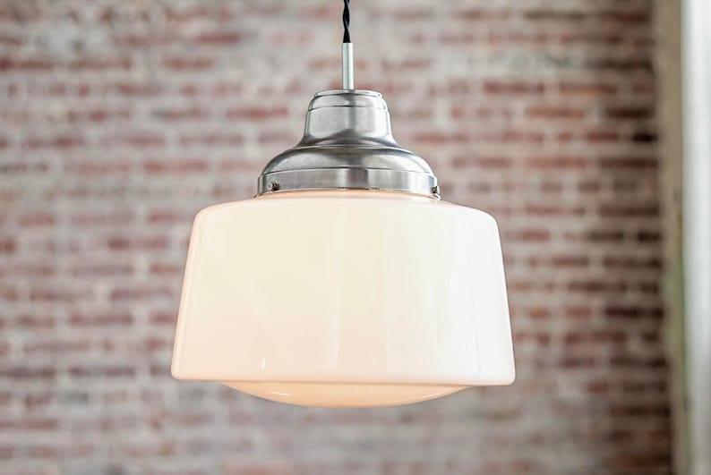 Pendant Lights Schoolhouse Pendant Hanging Pendant Light | Etsy