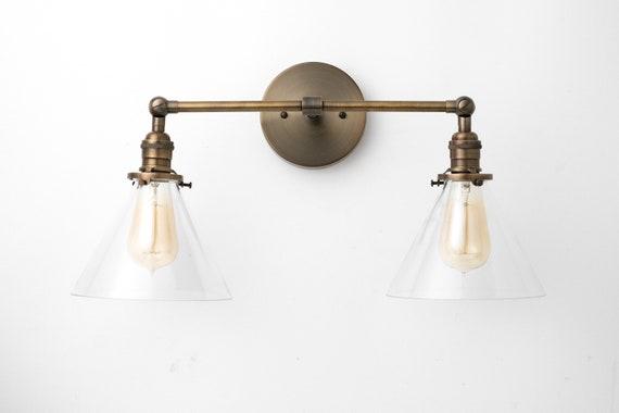 Industrial Vanity Vanity Light Hardwired Light Bathroom Light Articulating Lights Farmhouse Light Light Fixture Model No. 1464