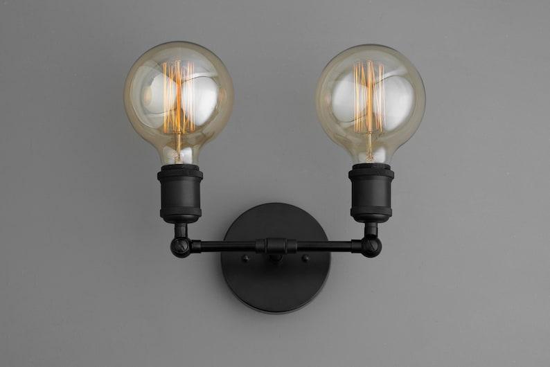 Globe ampoule lampe vintage eclairage applique murale etsy