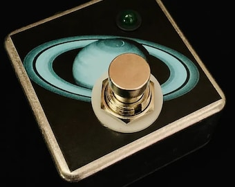 Saturnworks Micro Favorite Switch Guitar Pedal for Strymon, Handcrafted in California
